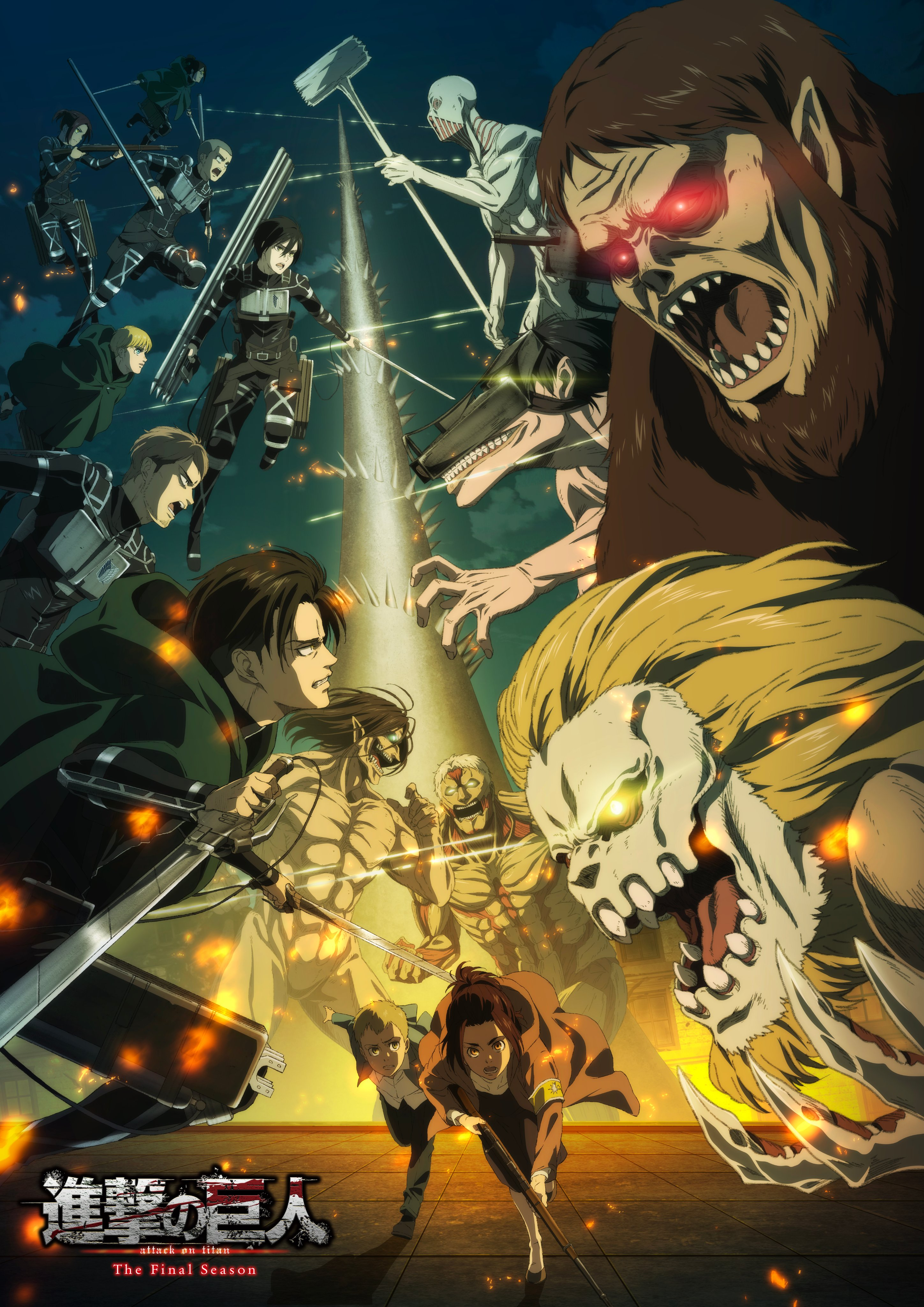 Jaw Titan Attack On Titan Zerochan Anime Image Board