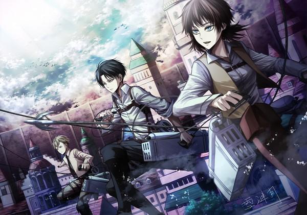 Tags: Anime, Xue Lian Yue, Shingeki no Kyojin, Levi, Isabel Magnolia, Farran Church