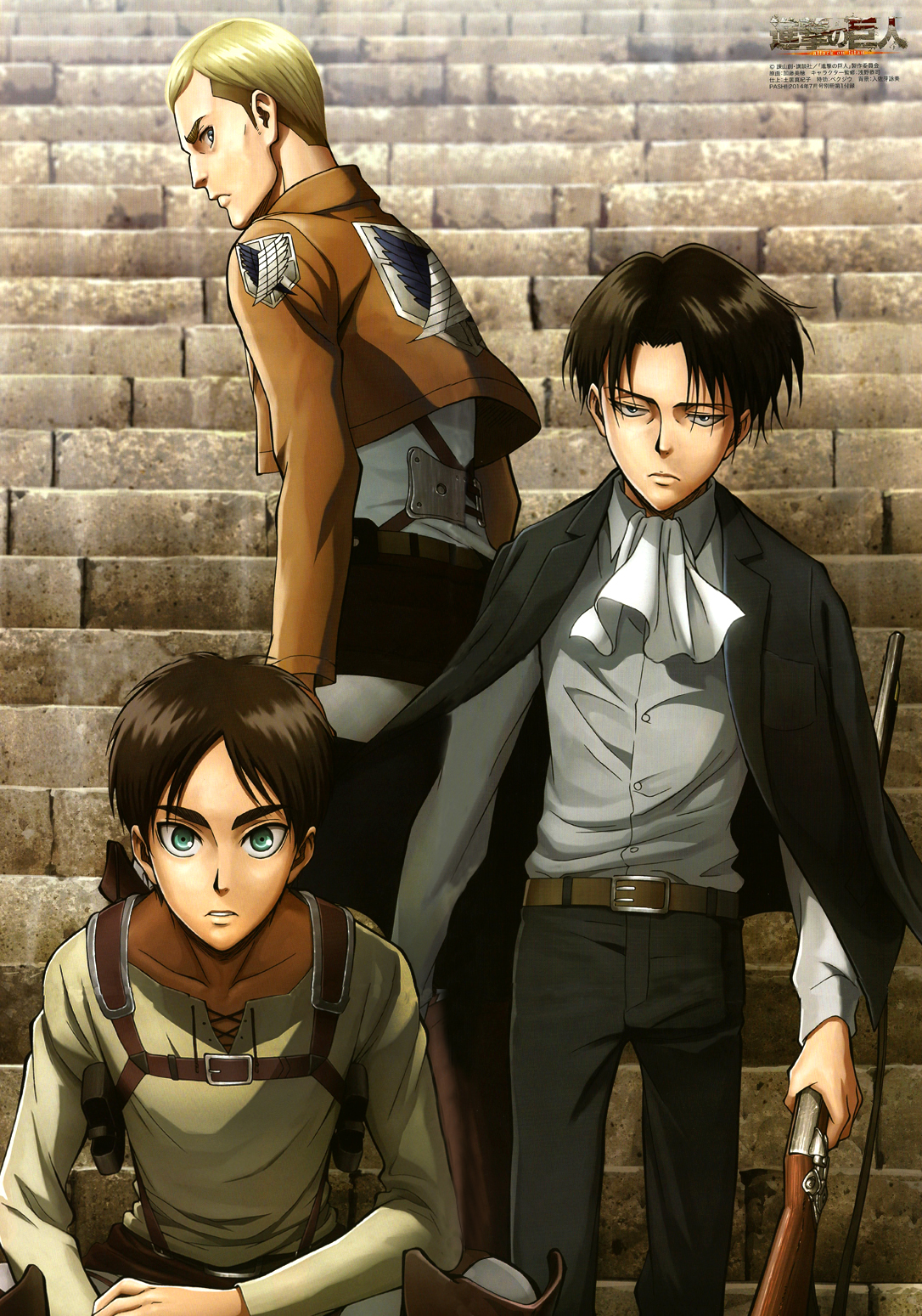 read attack on titan manga