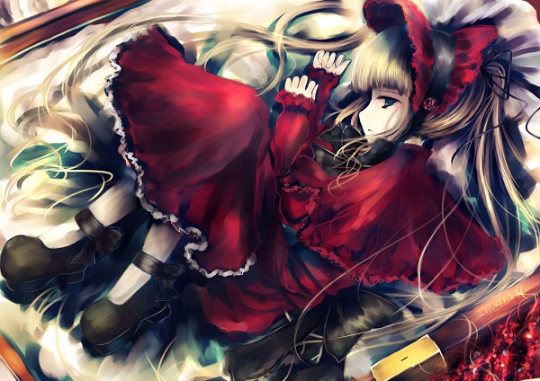 Tags: Anime, Abudala, Rozen Maiden, Shinku, Vestido rojo