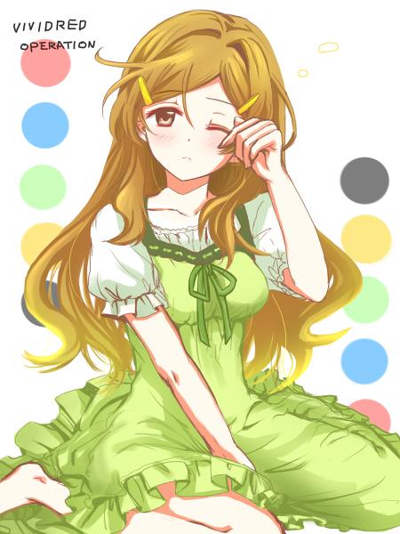 Tags: Anime, Pixiv Id 956594, Vividred Operation, Shinomiya Himawari