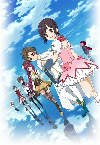 Tags: Anime, Pixiv Id 5409131, Shinsekai Yori, Itou Mamoru, Aonuma Shun, Watanabe Saki, Squealer