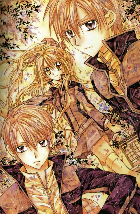 Tags: Anime, Tanemura Arina, Shinshi Doumei Cross, Touguu Takanari, Otomiya Haine, Touguu Shizumasa, Official Art