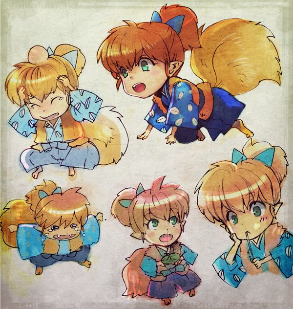 Tags: Anime, InuYasha, Shippo, Bump