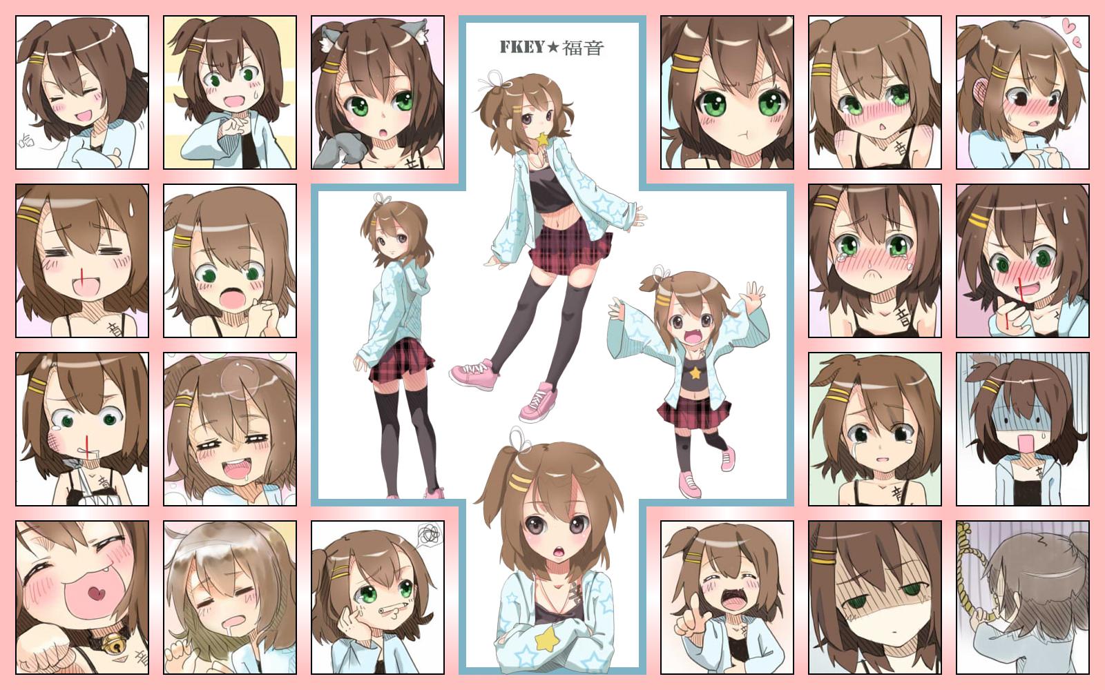 Tags Anime Fkey Shirakawa Kona Wallpaper