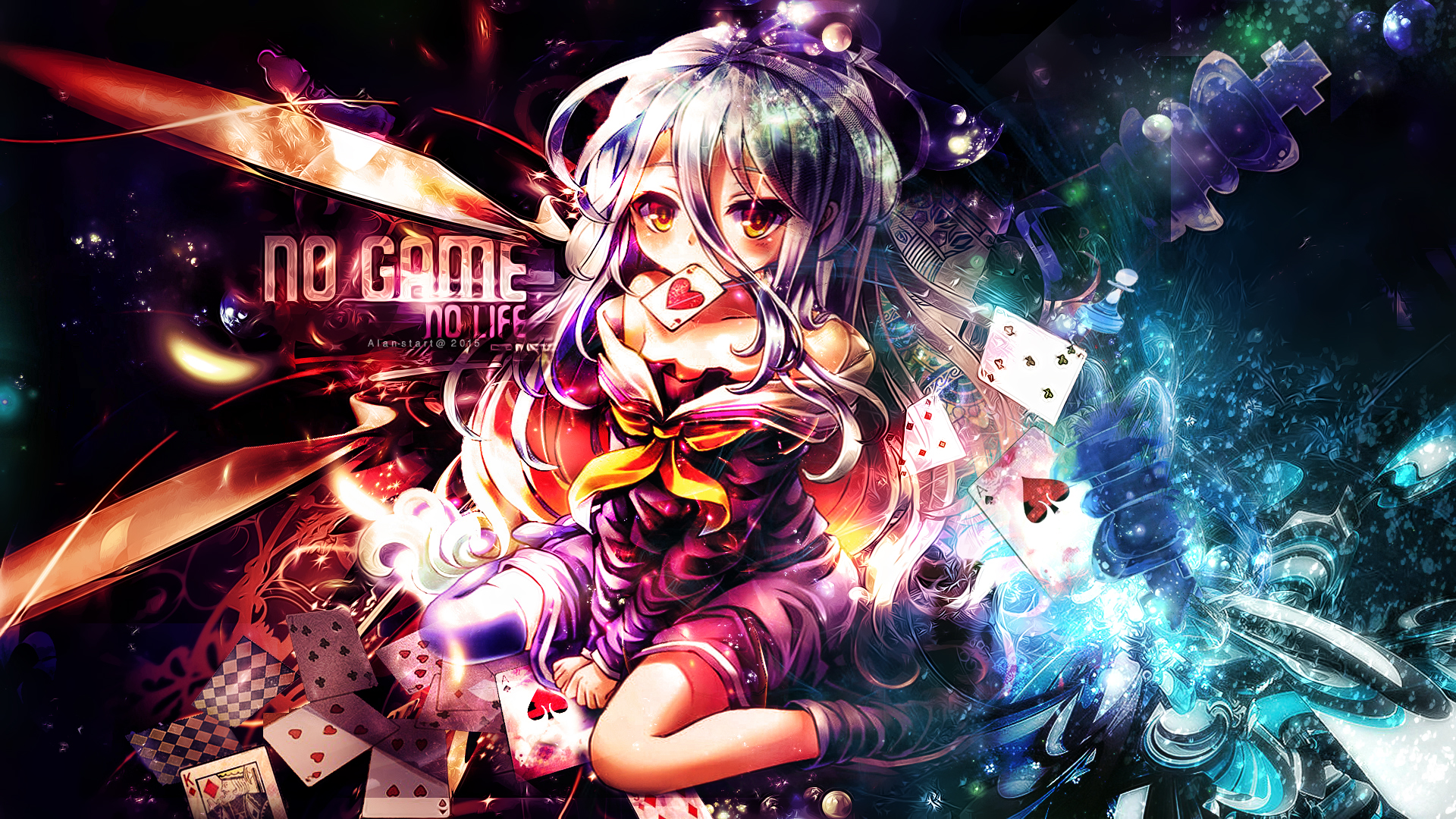 Shiro No Game No Life Hd Wallpaper 1852318 Zerochan Anime
