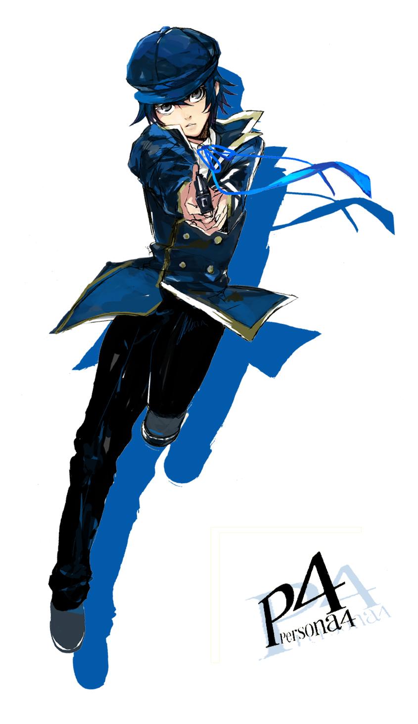 Persona 4 Anime Characters : Shirogane naoto shin megami tensei persona page