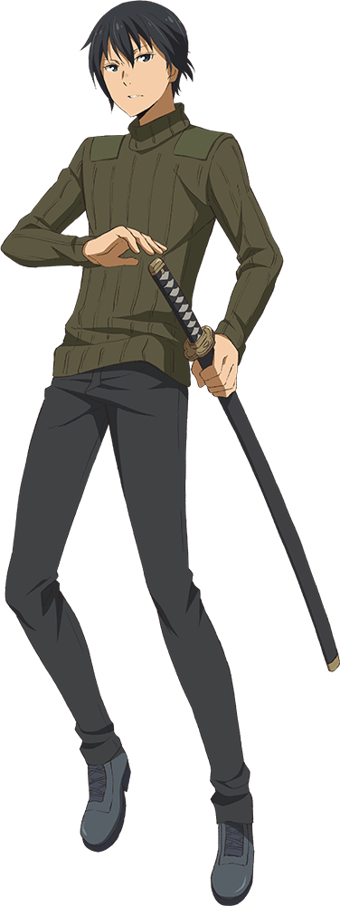 Tags: Anime, Amisaki Ryouko, Lerche, Kino no Tabi: The Beautiful World - The Animated Series, Kino no Tabi, Shizu (Kino no Tabi), PNG Conversion, Cover Image