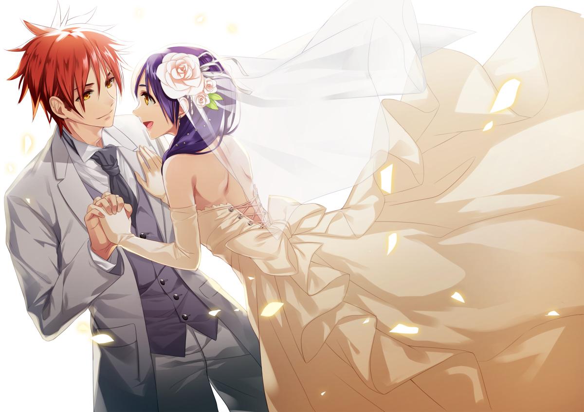 Soma X Megumi Married Otp 3 Shokugekinosoma
