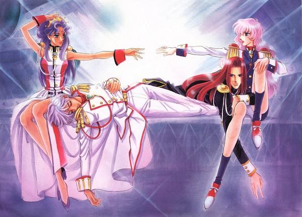 Tags: Anime, Chiho Saito, Shoujo Kakumei Utena, Shoujo Kakumei Utena : Saitou Chiho Fukusei Gengashuu, Tenjou Utena, Himemiya Anthy, Prince Dios