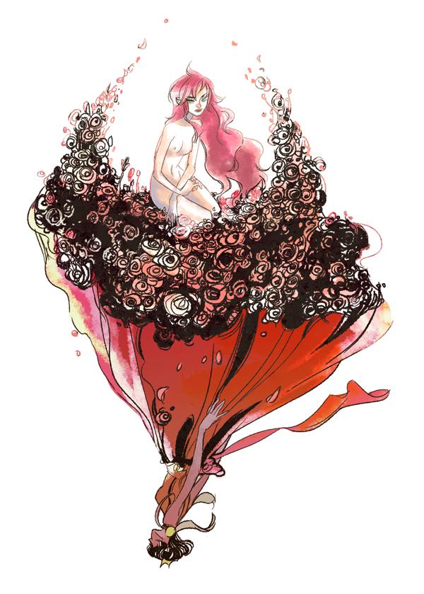 Tags: Anime, Shoujo Kakumei Utena, Tenjou Utena, Himemiya Anthy, Mobile Wallpaper, Revolutionary Girl Utena