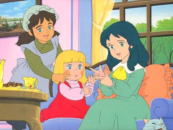 A Little Princess Sara anime visual