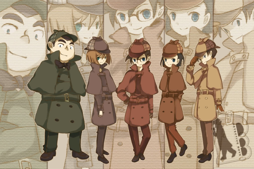 Картинки аниме детектив