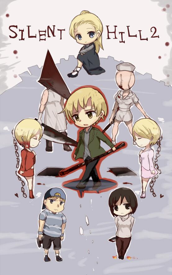 Silent Hill Mobile Wallpaper 1373389 Zerochan Anime Image Board