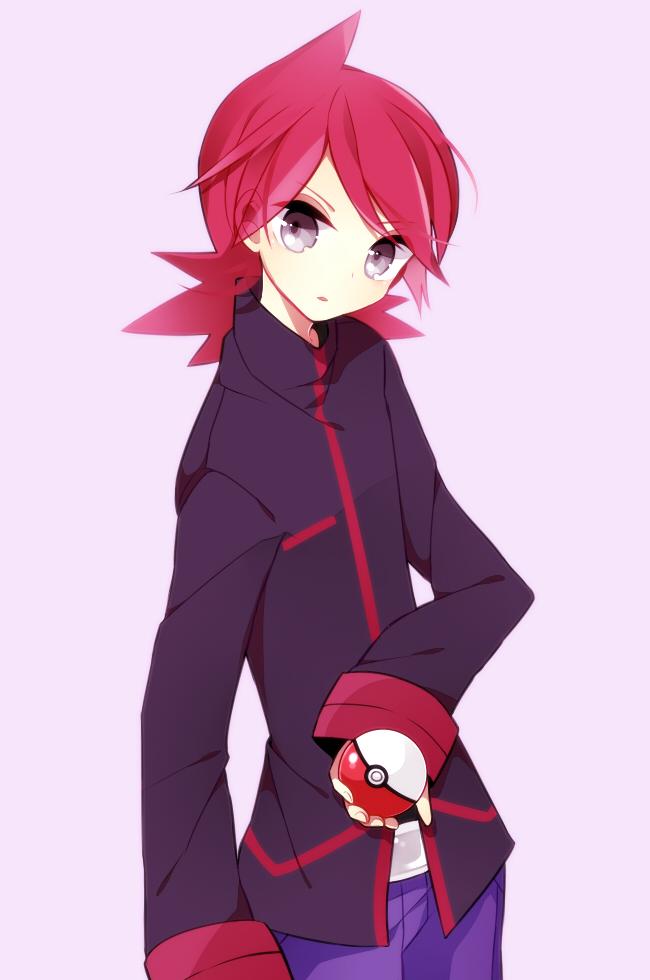 Tags: Anime, Fukashiro, Pokémon, Silver (Pokémon), Pixiv, Mobile Wallpaper, Fanart