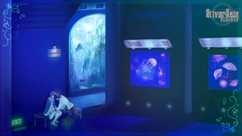 Tags: Anime, Silver Rain, Aquarium, Jellyfish