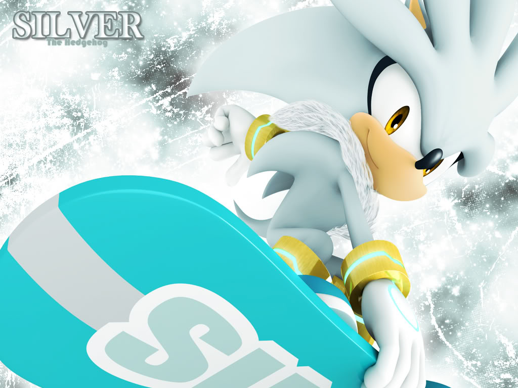 Sonic the Hedgehog, Silver the Hedgehog, Anthro, 1024x768 Wallpaper ...