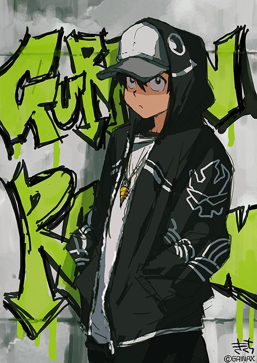 Simon Tengen Toppa Gurren Lagann Mobile Wallpaper 289356 Zerochan Anime Image Board