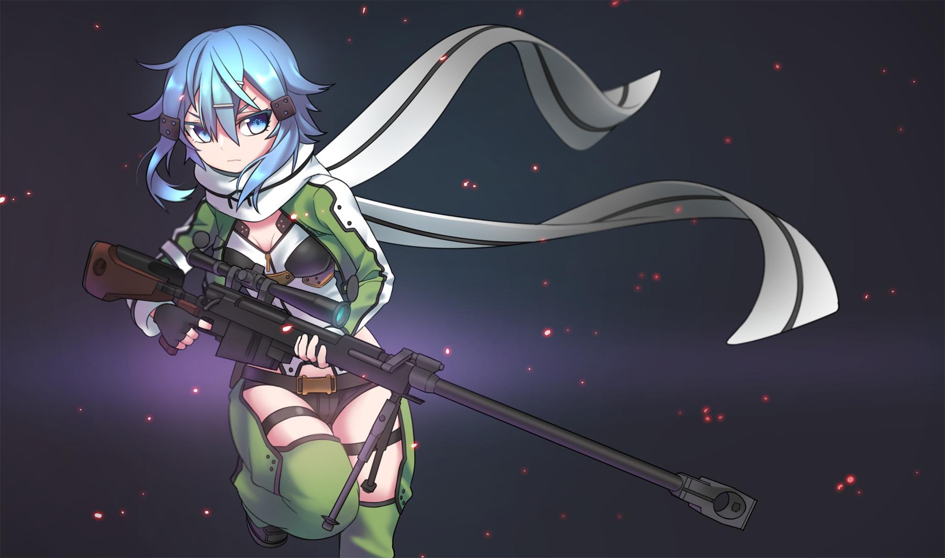 Sinon Ggo Asada Shino Wallpaper 1759315 Zerochan Anime