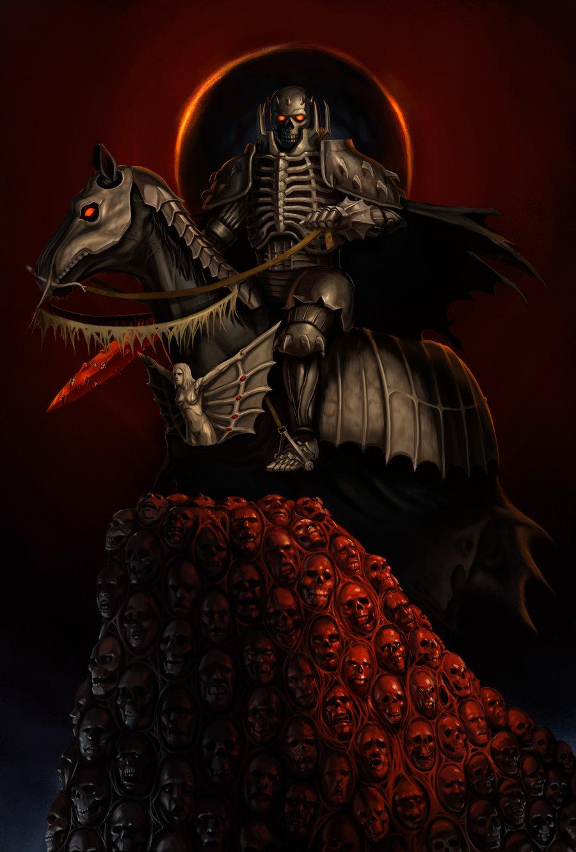 skull knight - berserk  kentaro miura  - image  2245228