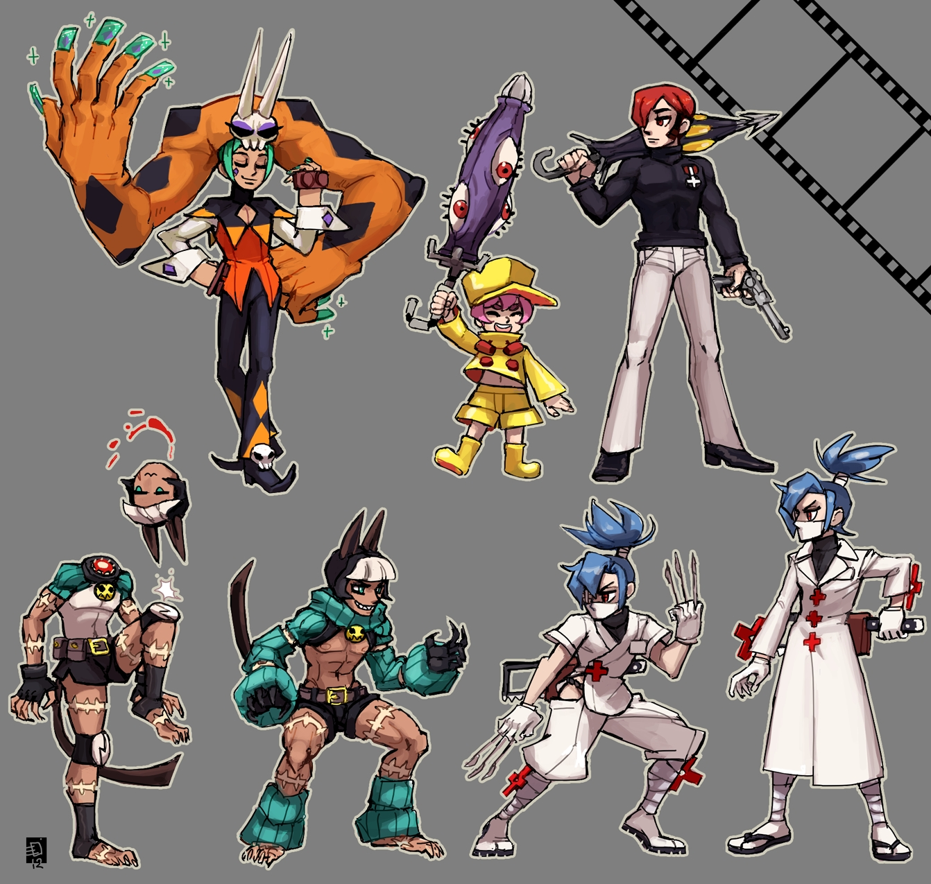 Skullgirls Game Zerochan Anime Image Board