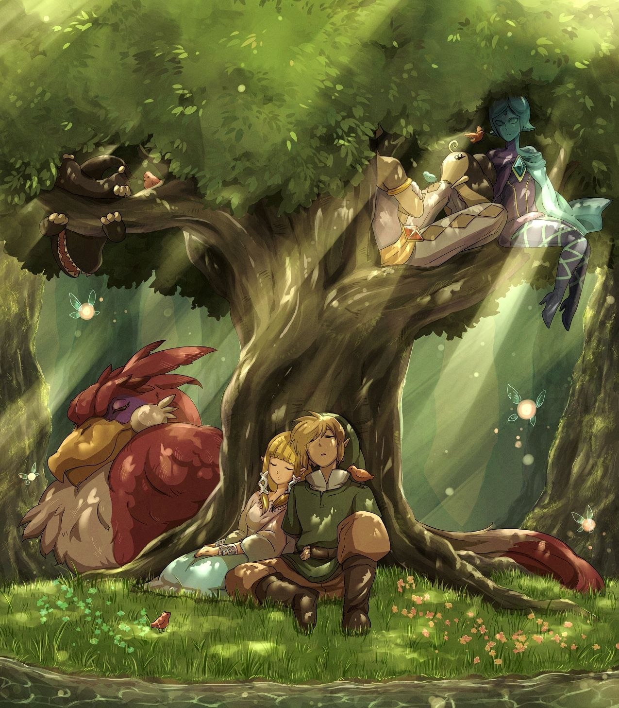 Zelda Wallpapers: Zelda No Densetsu (The Legend Of Zelda)