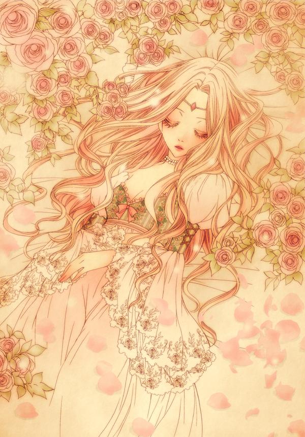 Anime Characters Sleeping : Sleeping beauty character mobile wallpaper