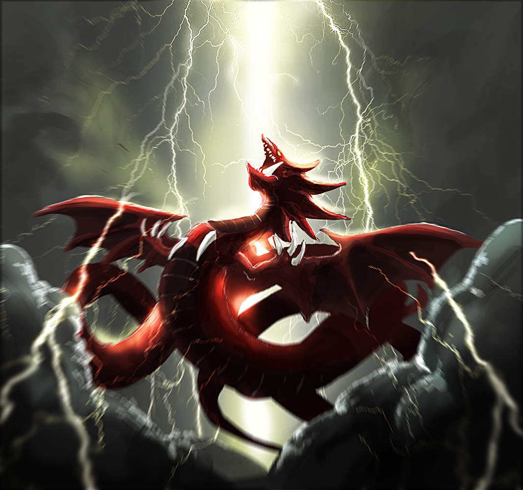 slifer the sky dragon fanart page 2 zerochan anime image board