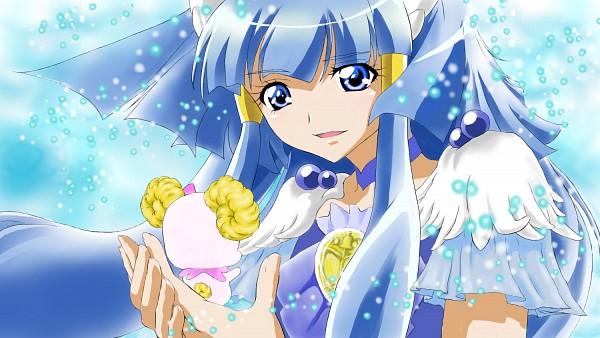 Tags: Anime, Pixiv Id 4707937, Smile Precure!, Aoki Reika, Cure Beauty, Candy (Smile Precure), Snowflakes