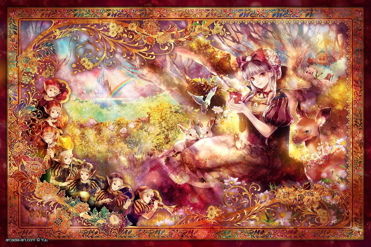 Tags anime radu snow white and the seven dwarfs snow white violin