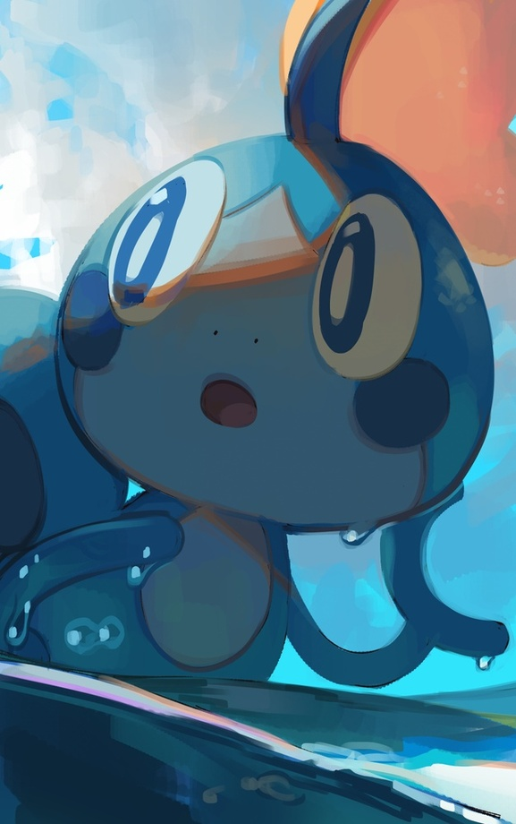 Tags: Anime, Pixiv Id 17716210, Gloss, Pokémon Sword & Shield, Pokémon, Sobble