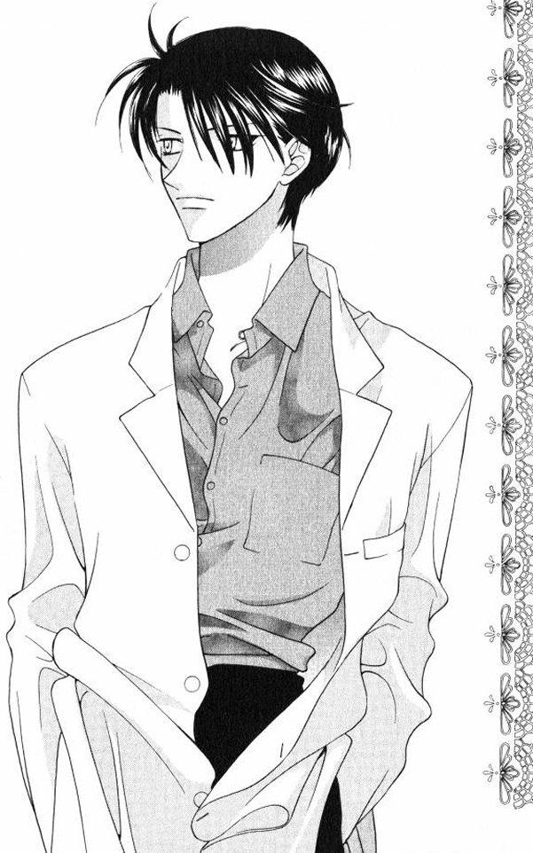 Tags: Anime, Takaya Natsuki, Fruits Basket, Sohma Hatori, Doctor, Manga Page, Mobile Wallpaper, Scan, Official Art