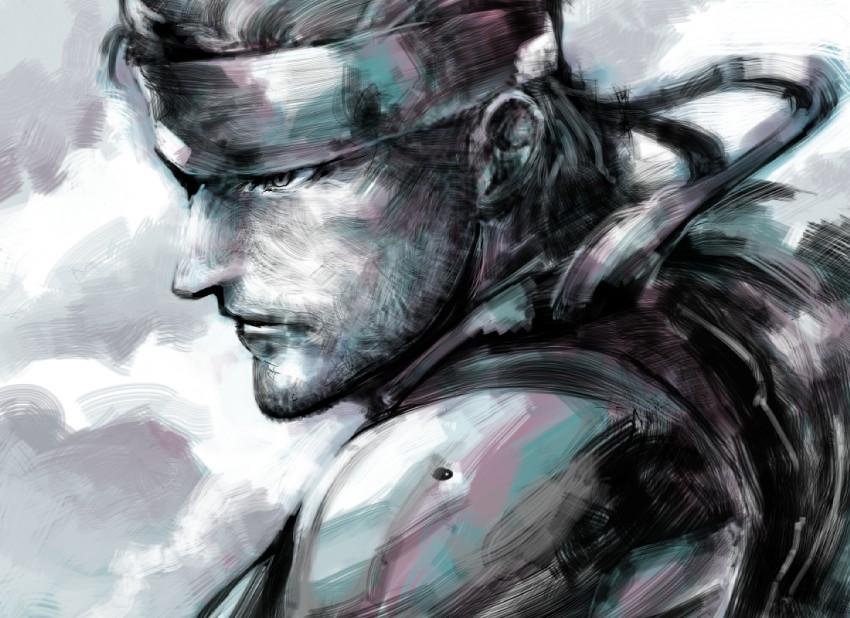 Solid Snake Metal Gear Solid Image 425284 Zerochan