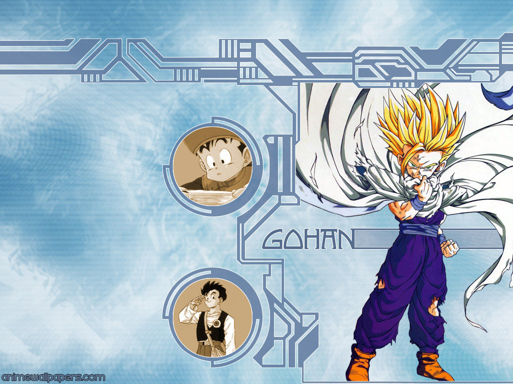 Son Gohan Dragon Ball Wallpaper 1026637 Zerochan Anime