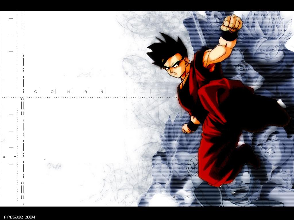 Son Gohan Wallpaper Zerochan Anime Image Board