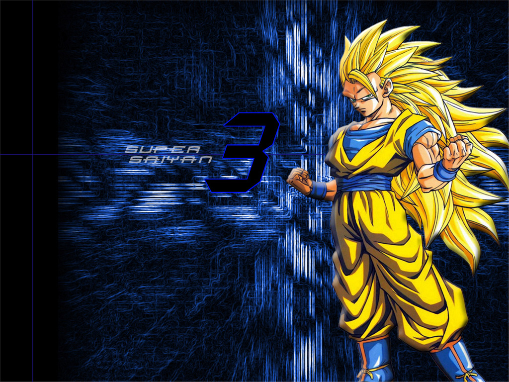Wallpaper Super Saiyan 3 1024x768 475kB View Fullsize Son Goku DRAGON BALL Image