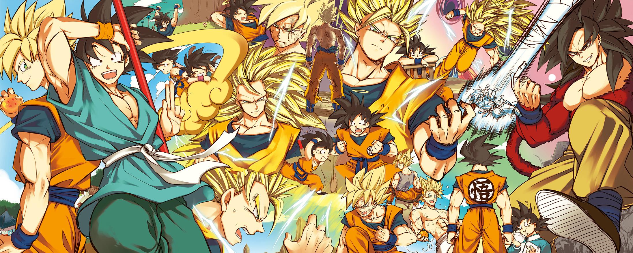 Dbz Dual Screen Wallpapers: Son Goku (DRAGON BALL)/#1758872