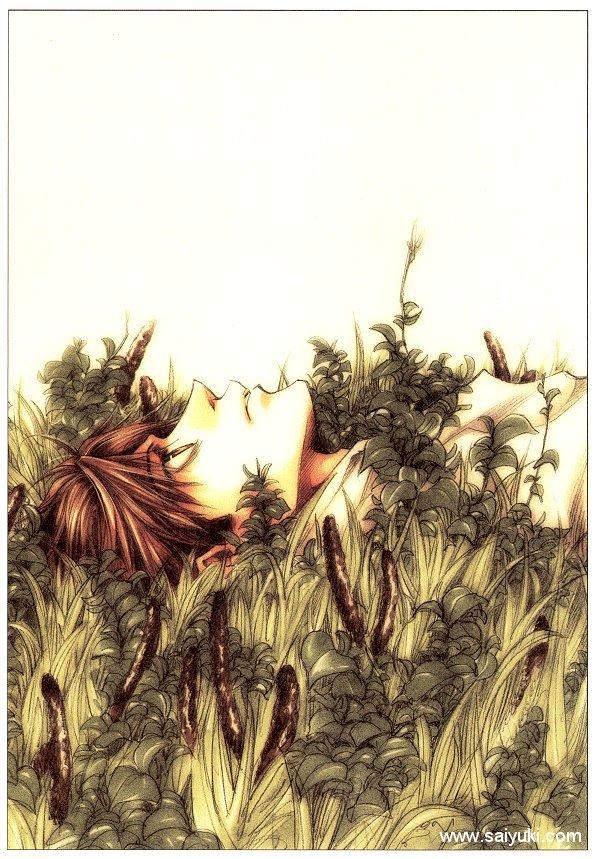 Tags: Anime, Kazuya Minekura, Saiyuki, Son Goku (Saiyuki), Mobile Wallpaper