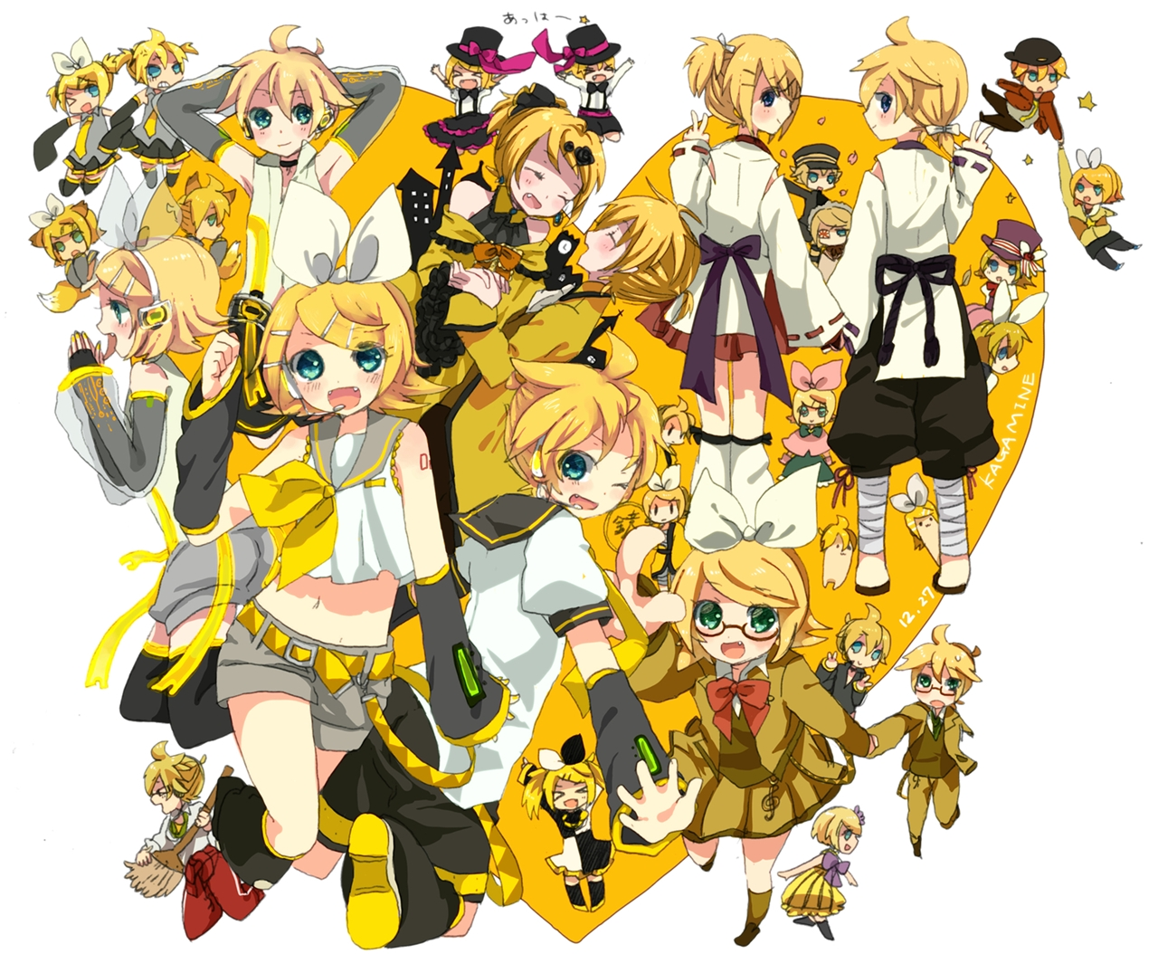 Song over 921364 zerochan - Kagamine rin project diva ...