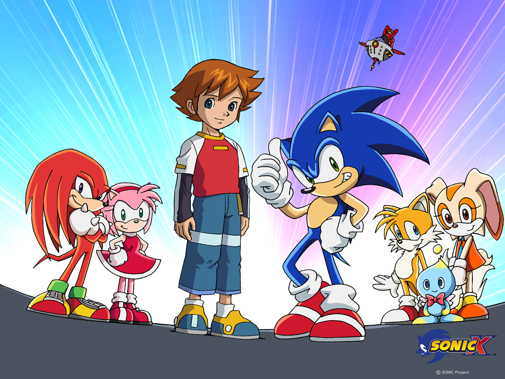 Amy Rose And Tails Sonic X