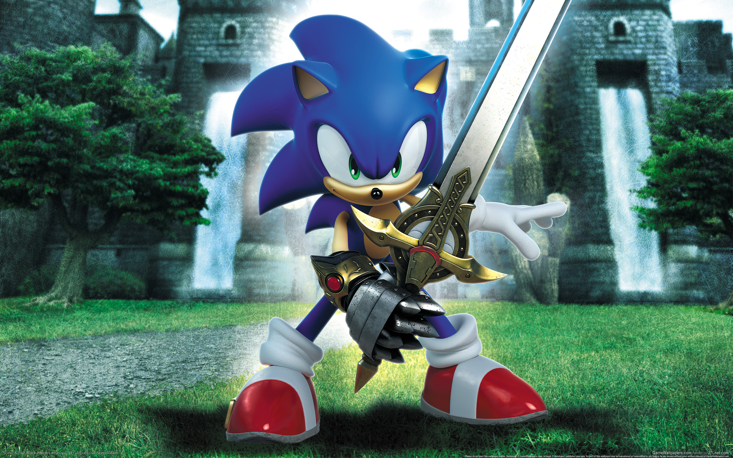Sonic The Hedgehog Character Hd Wallpaper 461999 Zerochan Anime Image Board