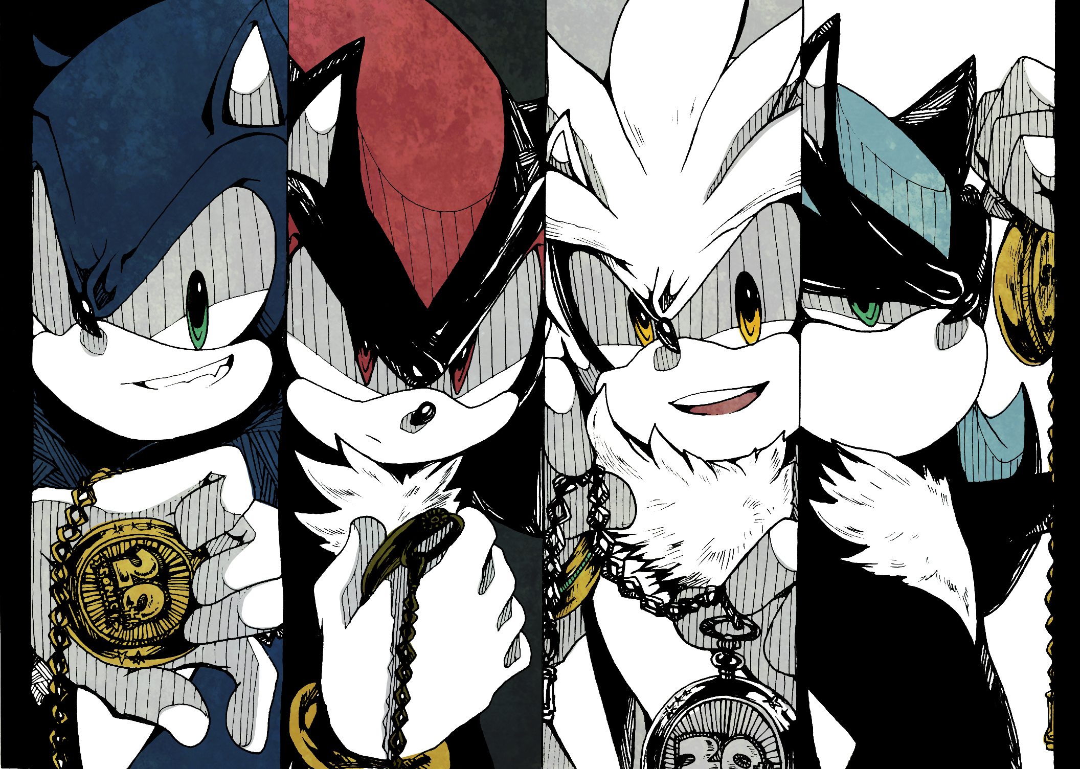Characters Images Silver Pigstruction: Sonic The Hedgehog Image #1501299
