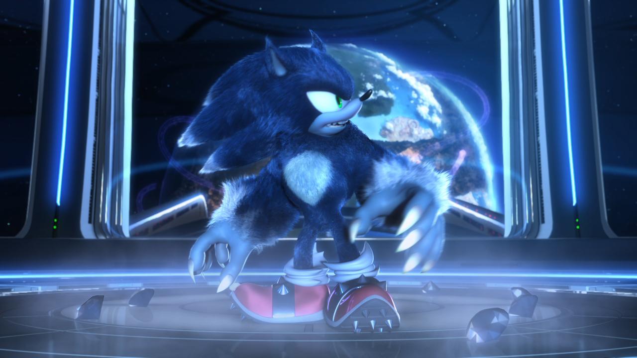 View Fullsize Sonic The Werehog Image