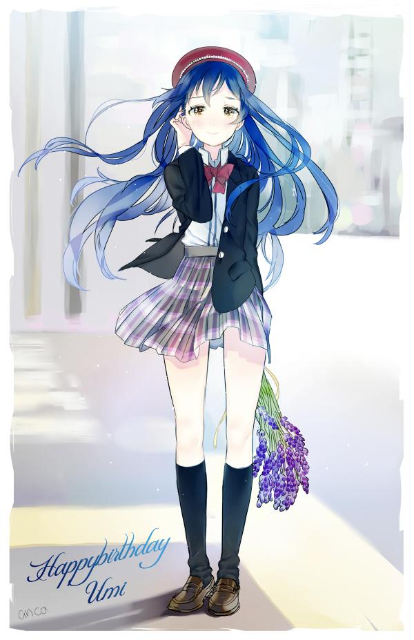Tags: Anime, Ancotaku, Love Live!, Sonoda Umi, Mobile Wallpaper, Pixiv, Fanart, Fanart From Pixiv, Umi Sonoda