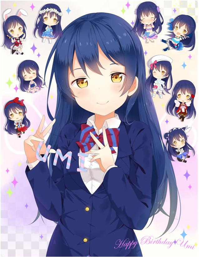 Tags: Anime, Hitsukuya, Love Live!, Sonoda Umi, Pixiv, Yume no Tobira, PNG Conversion, Fanart, Music S.T.A.R.T!!, Mogyutto