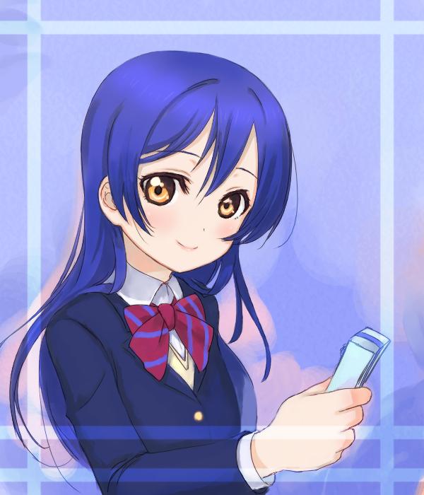 Tags: Anime, Pixiv Id 1212769, Love Live!, Sonoda Umi, 600x700 Wallpaper, Pixiv, Fanart, Fanart From Pixiv