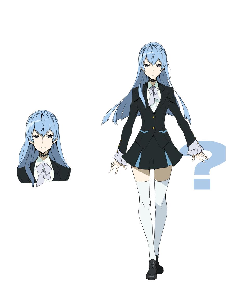 She looks like Esdeath-Sama. (Sonozaki Noriko from Kiznaiver) - 9GAG
