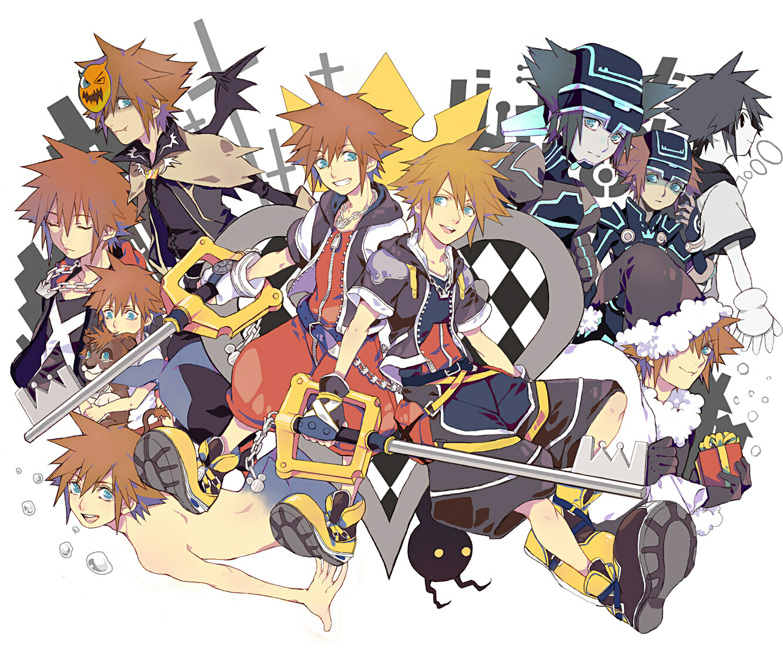Sora Nightmare Before Christmas Costume.Sora Kingdom Hearts Image 1242942 Zerochan Anime Image
