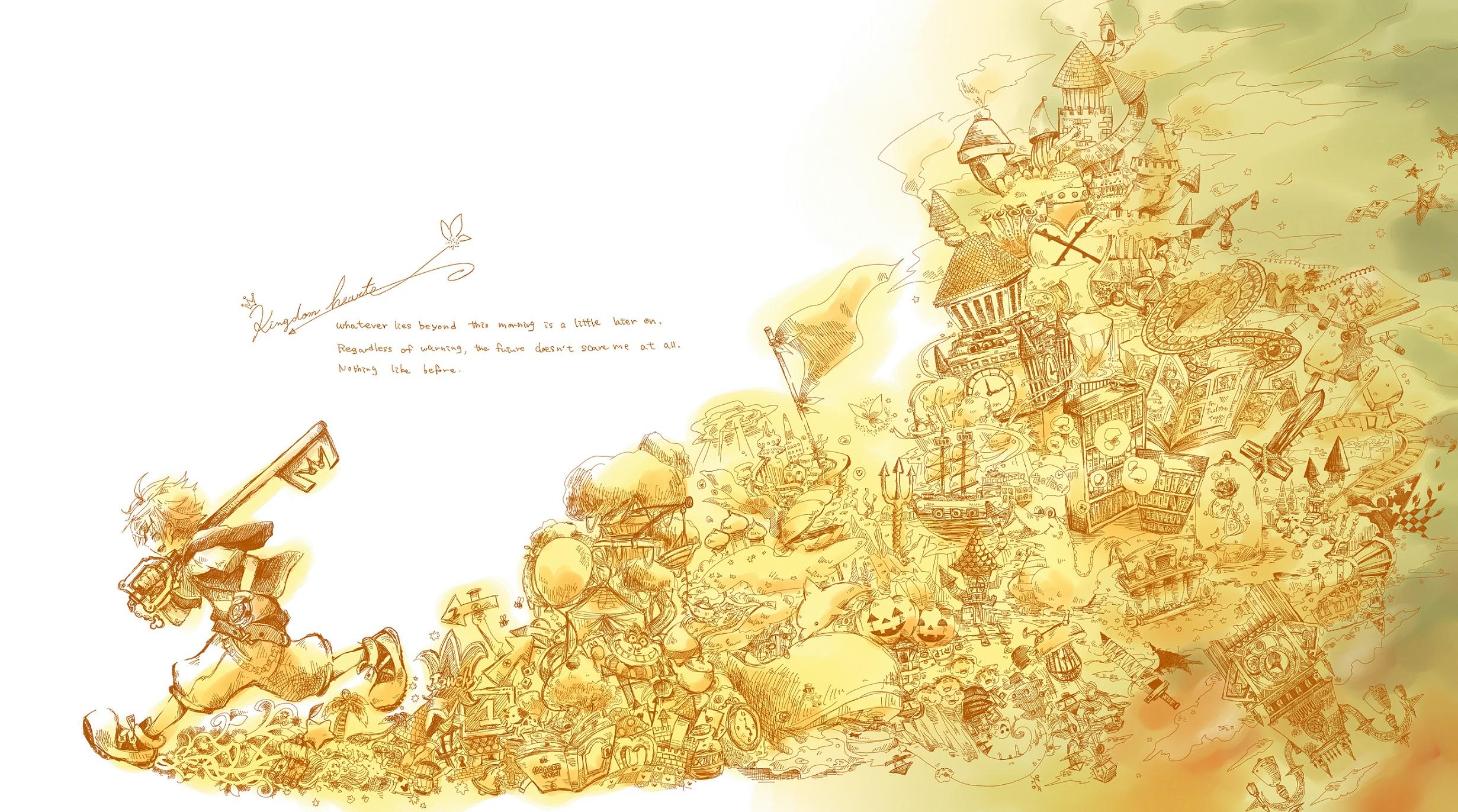 Tags: Fanart, Kingdom Hearts, SQUARE ENIX, Sora (Kingdom Hearts), Wallpaper, Sketch, Pixiv, Disney, Fanart From Pixiv, Pixiv Id 996224, Facebook Cover