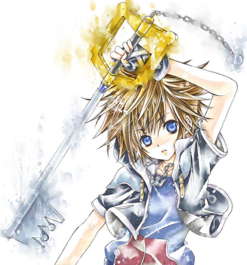 Sora (Kingdom Hearts)/#486694
